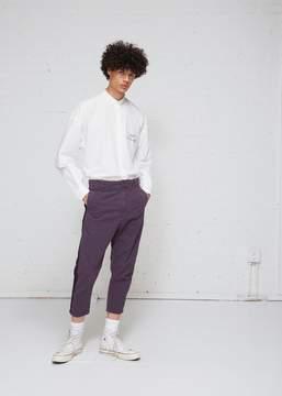 Robert Geller Bertrand Paper Cotton Pant