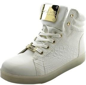 Bebe Sport Keene Women Round Toe Synthetic White Sneakers.
