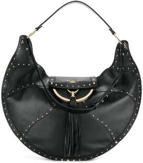 Balmain Domaine studded shoulder bag