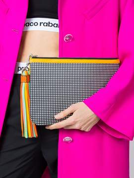 Pierre Hardy Checkered print clutch