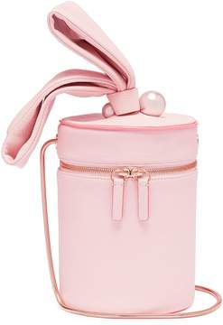 Sophia Webster 'Bonnie' faux pearl leather crossbody bucket bag