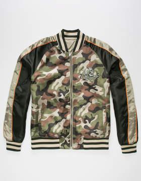 Members Only Reversible Mens Bomber Jacket