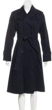 DKNY Long Double-Breasted Coat