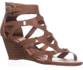 XOXO Womens Sarelia Open Toe Casual Strappy Sandals.