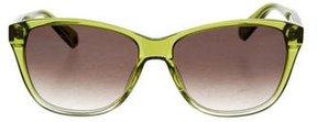 Balmain Oversize Logo Sunglasses w/ Tags