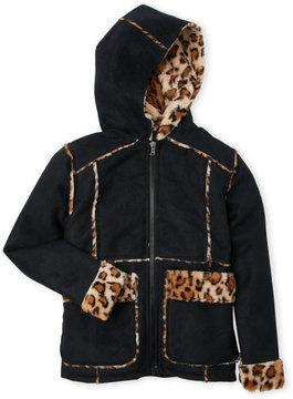Urban Republic Girls 7-16) Faux Shearling Hooded Jacket