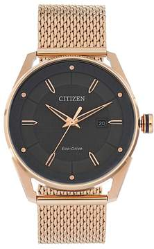 Citizen Drive from Eco-Drive Men's CTO Stainless Steel Mesh Watch - BM6983-51H