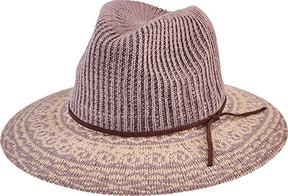 San Diego Hat Company Knit Pattern Fedora CTH8076 (Women's)