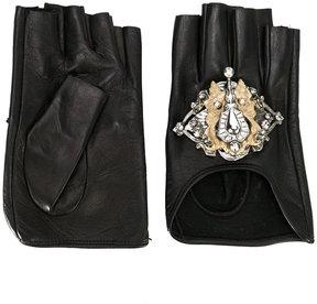 Elie Saab embellished fingerless gloves