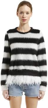 N°21 Sweatshirt W/ Feathers