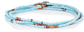 M. Cohen Men's Wrap Bracelet & Beaded Necklace