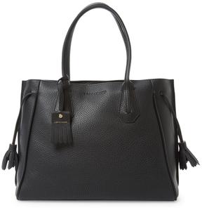 Longchamp Women's Penelope Leather Tassel Shoulder Bag