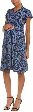 Everly Grey Maternity Kathy Wrap Dress