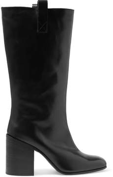 Acne Studios Bamy Leather Knee Boots - Black