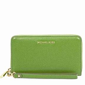 Michael Kors Mercer Large Phone Wristlet - True Green - TRUE GREEN - STYLE