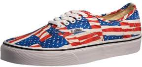 Vans Authentic Red/True White Ankle-High Canvas Skateboarding Shoe - 10M / 8.5M