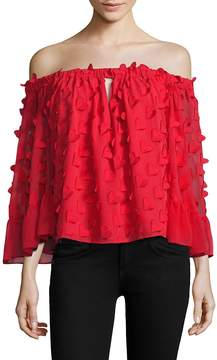 Alice McCall Women's Love Conquer Off-The-Shoulder Top