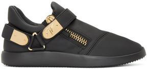 Giuseppe Zanotti Black Singles Slip-On Sneakers