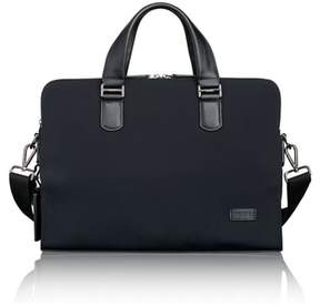Tumi Harrison Seneca Slim Briefcase - Black