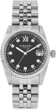 Forzieri Trevi Silver Tone Stainless Steel Women's Watch