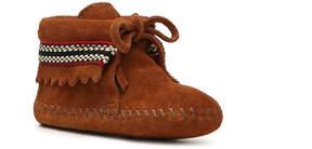 Minnetonka Girls Braid Infant & Toddler Boot