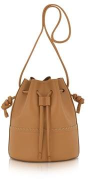 Coccinelle Women's Brown Leather Shoulder Bag.