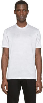 Neil Barrett White Camouflage T-Shirt