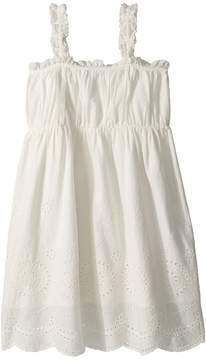 Stella McCartney Anemone Sleeveless Eyelet Dress Girl's Dress