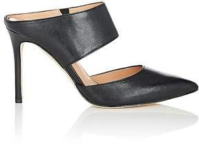 Halston WOMEN'S ISABELLA LEATHER MULES