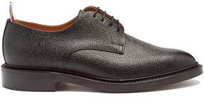 Thom Browne Pebbled-leather derby shoe