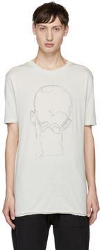 Damir Doma Grey Charles Madd Edition Tage T-Shirt