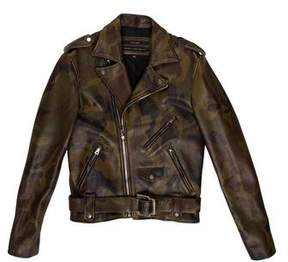 Pyer Moss Leather Killer Biker Jacket