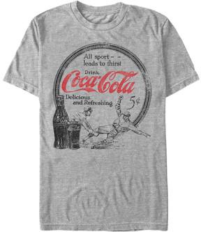 Fifth Sun Athletic Heather 'All Sport' Coca-Cola Tee - Men