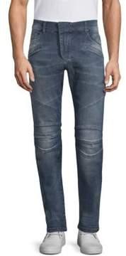 Pierre Balmain Biker Denim Jeans