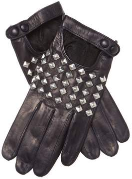 Portolano Women's Studded Leather Gloves