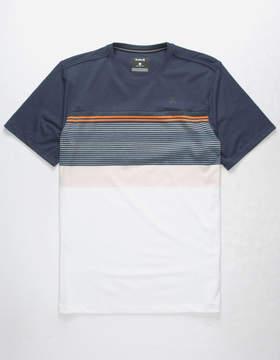 Hurley Strands Coves Mens Navy T-Shirt