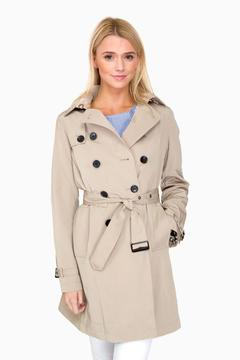 Jane Post Stone Downtown Trench Coat