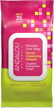Andalou Naturals Sensitive Micellar Facial Swipes