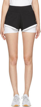 adidas by Stella McCartney Black and White Climachill Utlimate Training Shorts