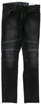 Belstaff Coated Moto Jeans