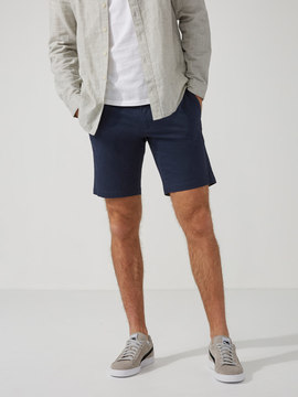 Frank and Oak The Newport Chino 9 Short in Dress Blue