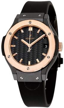 Hublot Classic Fusion Black Dial Black Rubber Watch 581CO1781RX