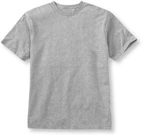 L.L. Bean L.L.Bean Carefree Unshrinkable Tee, Slightly Fitted