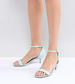 Asos DESIGN Hex Barely There Kitten Heeled Sandals