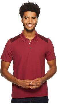 Perry Ellis Color Block Jacquard Polo Men's Clothing