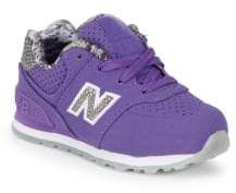 New Balance Girl's Lace-Up Sneakers