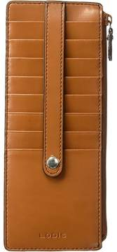 Lodis Audrey RFID Card Case With Zip Pocket