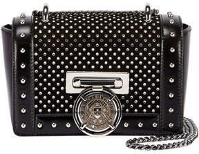 Balmain Baby Box Studded Shoulder Bag