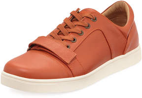 Michael Bastian Men's Ossie Leather Platform Sneakers, Orange