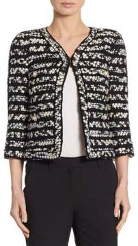 Edward Achour Specked Tweed Jacket